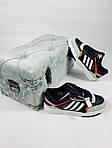 Чоловічі кросівки Adidas DROP Step (чорно-білі) 10337, фото 5