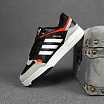 Чоловічі кросівки Adidas DROP Step (чорно-білі) 10337, фото 4