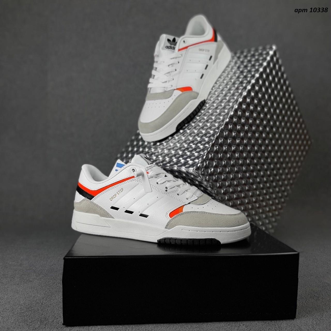 Чоловічі кросівки Adidas DROP Step (білі) 10338