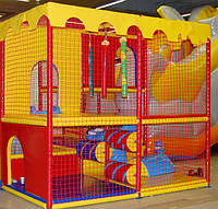 Сетка заградительная для детских игровых лабиринтов по размерам заказчика