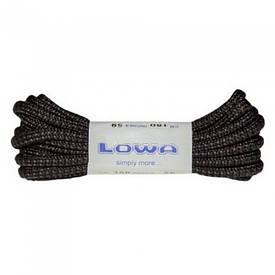 Шнурки Lowa ATC MID dotted 150 см черные / серые
