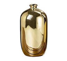 Ваза Гламур золотая керамика h26см Гранд Презент 1005886