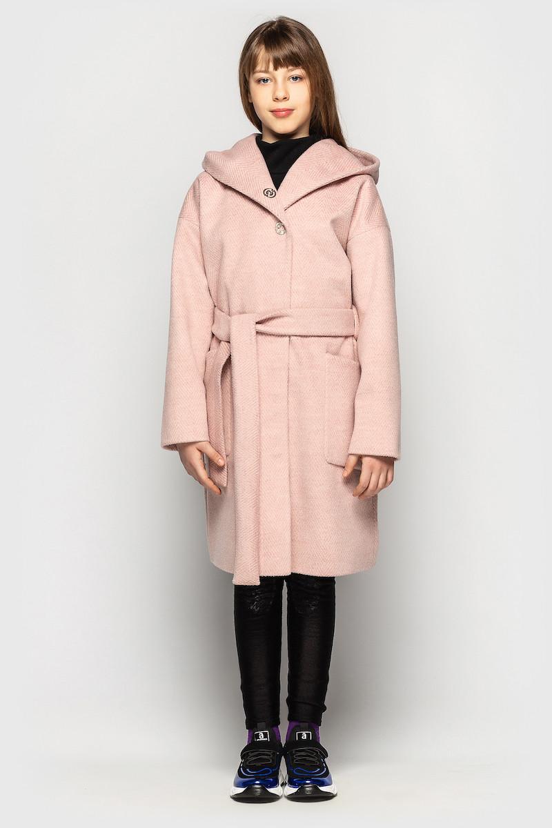 Кашемировое пальто Cvetkov Эвита Розовый