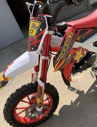 Мини кросс Питбайк kxd 49.9 cc красный, фото 2