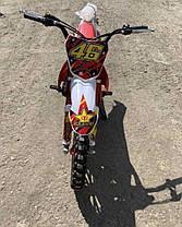 Мини кросс Питбайк kxd 49.9 cc красный, фото 3
