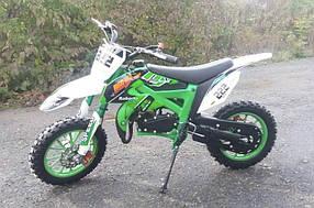 Мини кросс Питбайк kxd 49.9 cc зелёный