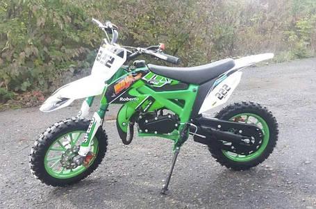 Мини кросс Питбайк kxd 49.9 cc зелёный, фото 2