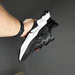 Мужские спортивные кроссовки Adidas Ozweego TR весенние (черно-белые) 10340, фото 2
