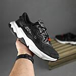 Мужские спортивные кроссовки Adidas Ozweego TR весенние (черно-белые) 10340, фото 6
