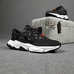 Мужские спортивные кроссовки Adidas Ozweego TR весенние (черно-белые) 10340, фото 9