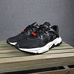 Мужские спортивные кроссовки Adidas Ozweego TR весенние (черно-белые) 10340, фото 5