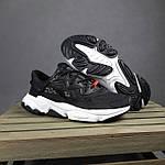 Мужские спортивные кроссовки Adidas Ozweego TR весенние (черно-белые) 10340, фото 7