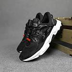 Мужские спортивные кроссовки Adidas Ozweego TR весенние (черно-белые) 10340, фото 4