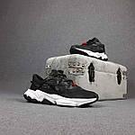 Мужские спортивные кроссовки Adidas Ozweego TR весенние (черно-белые) 10340, фото 8