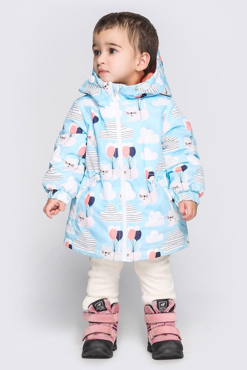 Куртка Cvetkov Эбби Голубо - персиковый