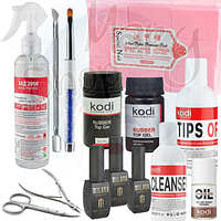 Набор для маникюра и педикюра с ножницами и кусачками Kodi Professional