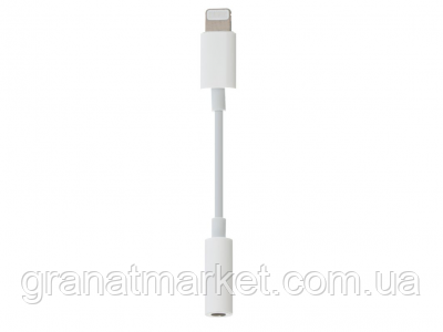Aux Cable 7G Lightning To 3.5 Jack Original Цвет Серый