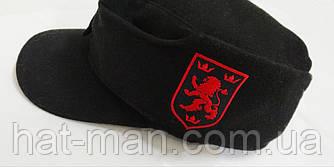 Кепи черное, Галичина (красно-черная вышивка)
