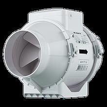 Вентилятор канальный смешанного типа Вентс ТТ 100, однофазный, 33Вт, 187м3/ч