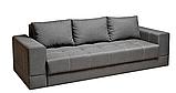 Диваны евро-книжки БАЗЕЛЬ от производителя Спальный диван для повседневного сна Софа Серый, фото 2
