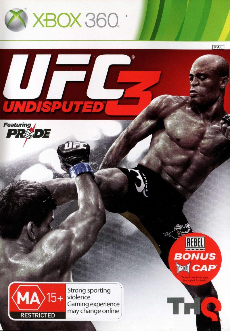 Игра для игровой консоли Xbox 360, UFC Undisputed 3 (Лицензия, БУ)
