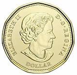 Канада 1 доллар 2020 - 75 лет ООН. цветная, фото 2