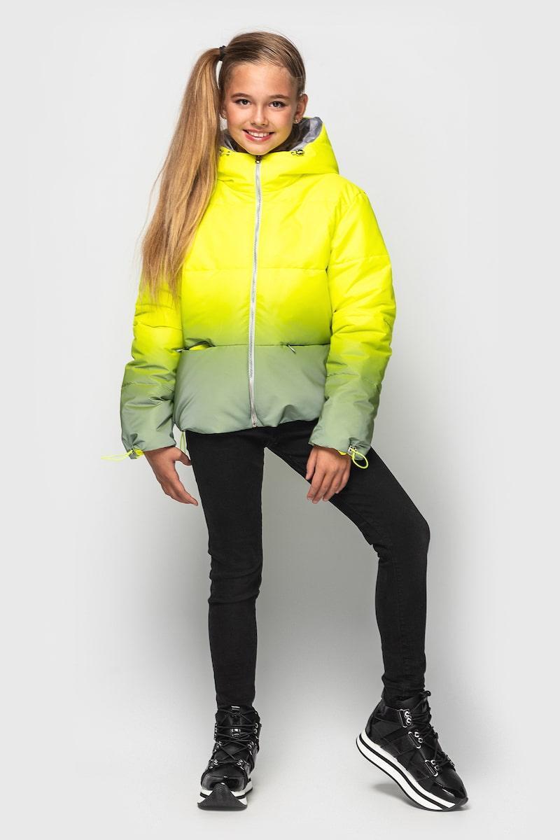 Куртка Cvetkov Колибри  Ультра желтый