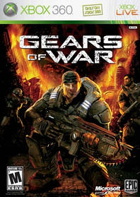 Игра для игровой консоли Xbox 360, Gears of War (Лицензия, БУ)