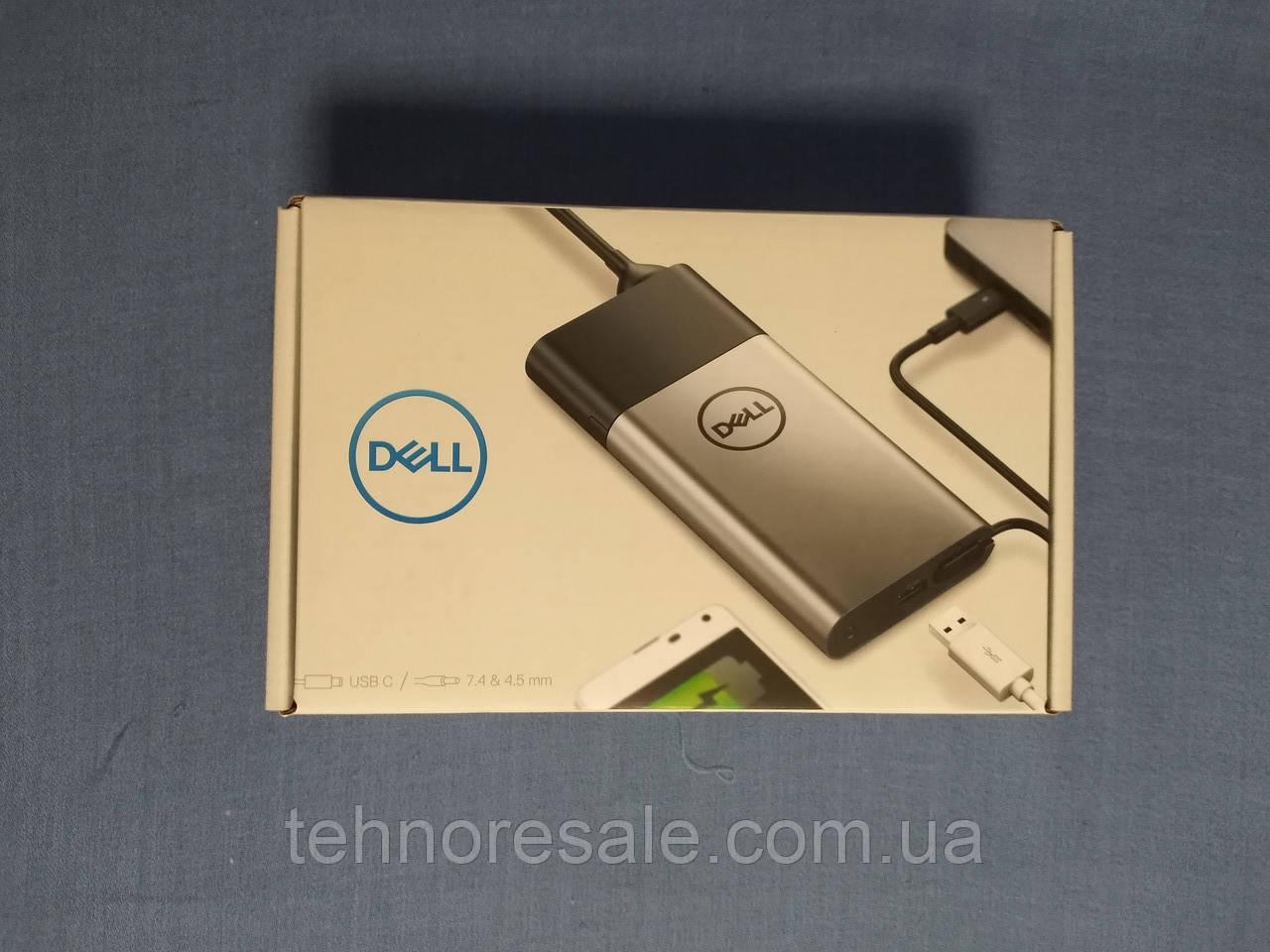 Блок живлення DELL Hybrid adapter 45W USB-С/7.4мм/4.5мм + POWER BANK 12800mAh PH45W17-AA