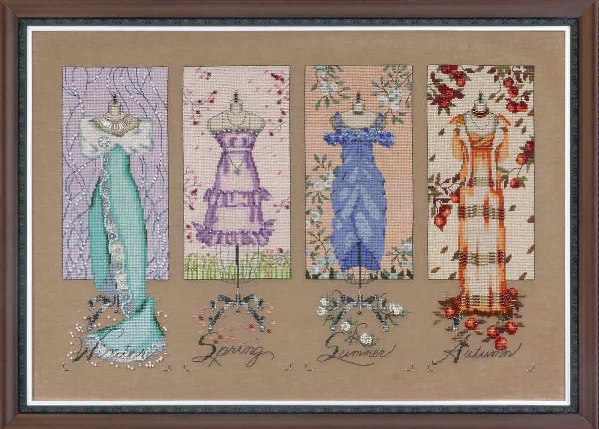 Комплект матеріалів Dressmakers' Daughter від Mirabilia Designs