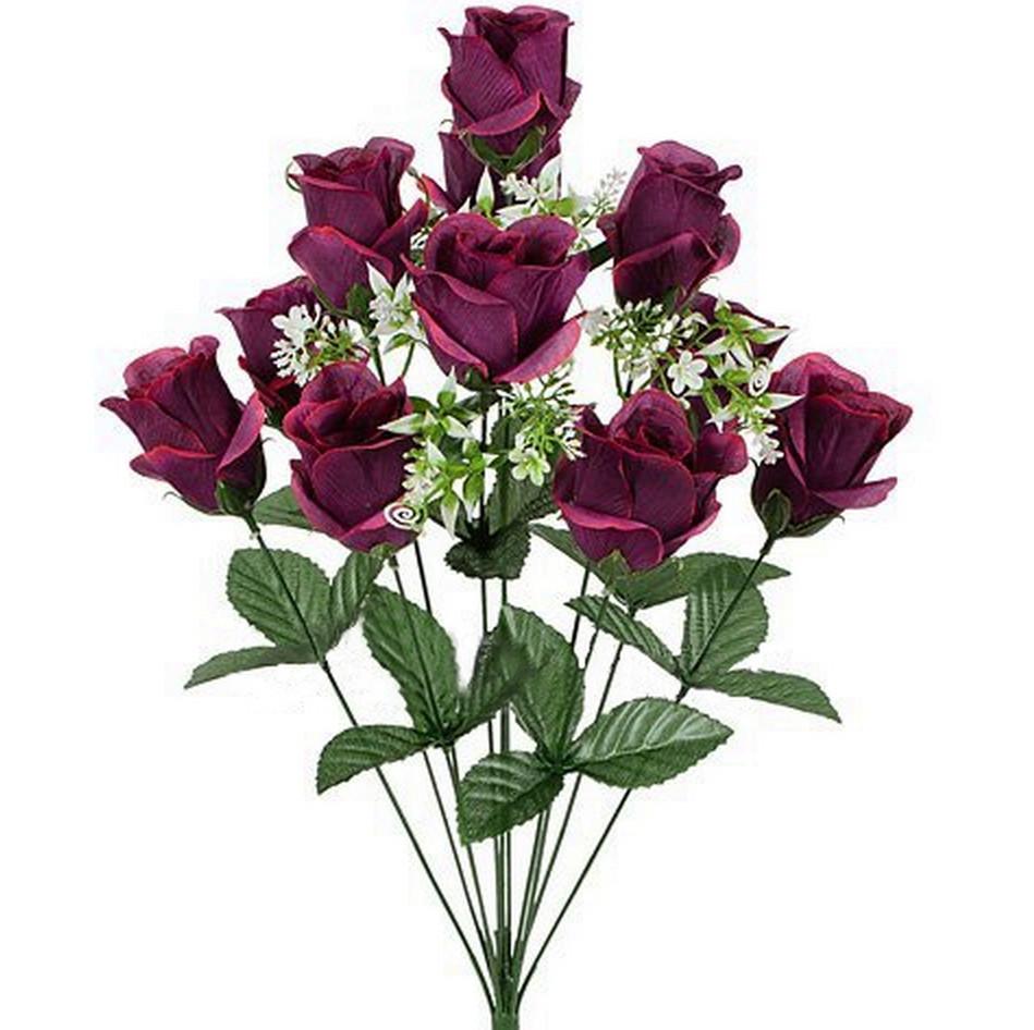 Штучні квіти букет бутонів, 59см(10 шт в уп)