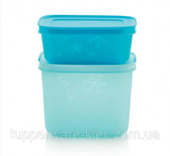 Емкости для заморозки 4 шт Набор охлаждающих лотков 450мл х 2 шт/1,1 лх 2 шт  Tupperware