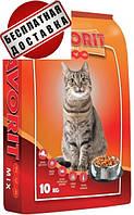 Корм пан кот Фаворит Микс Польша, Птица Рыба Говядина, для кошек 10кг