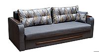 Диван раскладной спальный КОМФОРТ 2 Спальный диван для повседневного сна Софа Серый