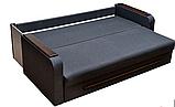Диван раскладной спальный КОМФОРТ 2 Спальный диван для повседневного сна Софа Серый, фото 3