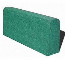 Бордюр гумовий (поребрик) 500х210х40 мм PuzzleGym зелений
