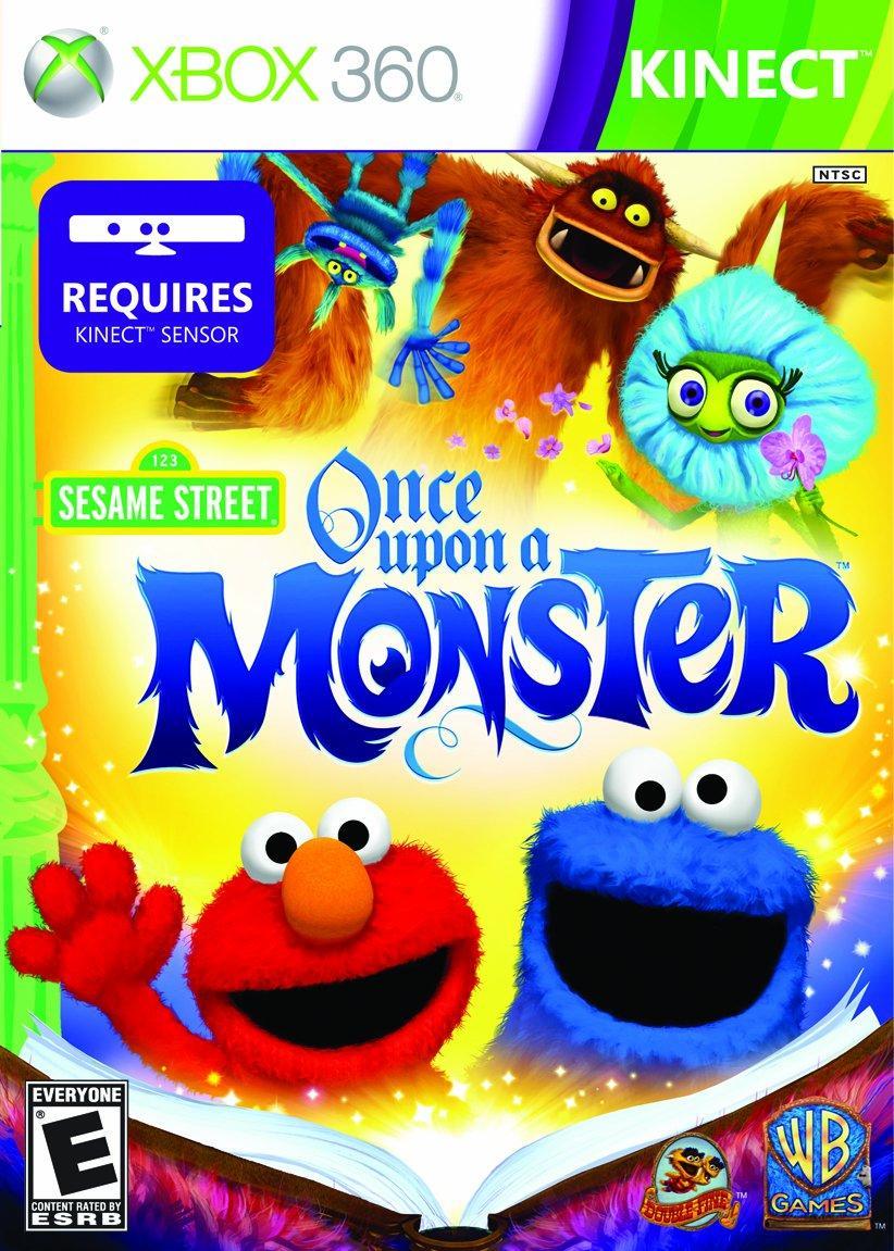 Игра для игровой консоли Xbox 360, Sesame Street: Once Upon a Monster (Лицензия, БУ)