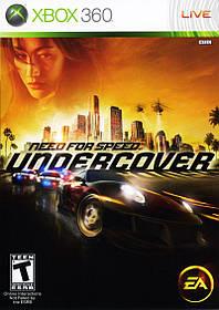 Игра для игровой консоли Xbox 360, Need for Speed: Undercover (Лицензия, БУ)