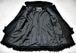 Черное женское пальто Шерсть Размер S / 44-46 Б/У Хорошее состояние, фото 7