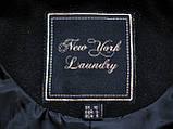 Черное женское пальто Шерсть Размер S / 44-46 Б/У Хорошее состояние, фото 10