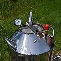 Автоклав для домашнего консервирования Мега-40, нержавеющая сталь