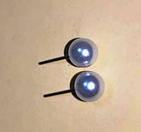 """Оригінальні сережки """"Чапля"""" від студії LadyStyle.Biz, фото 1"""