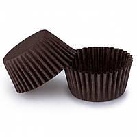 Бумажные формы для конфет 35х26,5 мм, коричневые