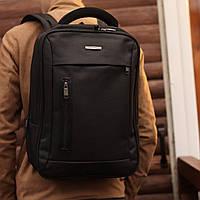 Рюкзак мужской городской с отделением для ноутбука Gorangd черный, фото 1