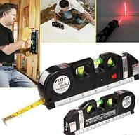 Лазерный уровень с рулеткой /вертикаль/гориз/крест Fixit Laser Pro 3 M-276431
