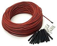 100 м вуглецевий нагрівальний кабель 33 Ом\м гнучкий карбоновий гріючий вуглецевий шнур силіконовий