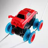 Lb Детский игрушечный автотрек Trix Trux с машинкой M-133923 трек для машинок конструктор, фото 3