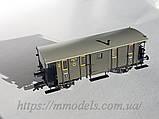 "Fleischmann 5368 модель грузопассажирского вагона ""Wechselwagen"""", принадлежности DRG ,масштаба  Н0 1:87, фото 2"