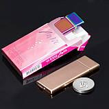USB зажигалка ультратонкая Ultra Slim Gold 089_4, фото 3