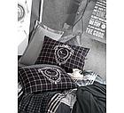 Постельный комплект евро Cotton Box ранфорс Hermanus Home 200*220, фото 2